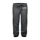 ENZA Ladies Dark Heather Banded Fleece Capri-Invent. Improve. Inspire.