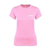 NxStage Ladies Performance Light Pink Tee-