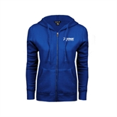 ENZA Ladies Royal Fleece Full Zip Hoodie-Home Therapies