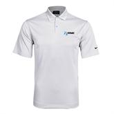 NxStage Nike Dri Fit White Pebble Texture Sport Shirt-