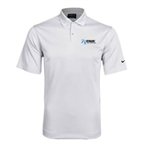 NxStage Nike Dri Fit White Pebble Texture Sport Shirt-Invent. Improve. Inspire.
