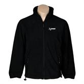 NxStage Fleece Full Zip Black Jacket-