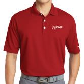 Nike Golf Dri Fit Red Micro Pique Polo-