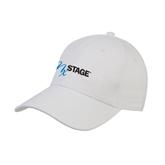 White Heavyweight Twill Pro Style Hat-
