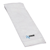 White Golf Towel-