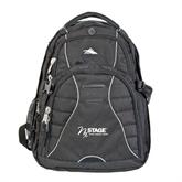 High Sierra Swerve Black Compu Backpack-Invent. Improve. Inspire.