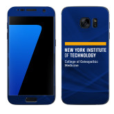 Samsung Galaxy S7 Skin-NYIT College of Osteopathic Medicine - Horiontal