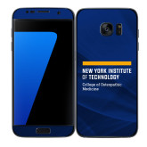 Samsung Galaxy S7 Edge Skin-NYIT College of Osteopathic Medicine - Horiontal
