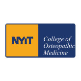 Medium Decal-NYIT College of Osteopathic Medicine - Horizontal, 8 inches wide