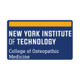 Small Decal-NYIT College of Osteopathic Medicine - Horiontal