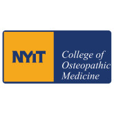 Extra Large Decal-NYIT College of Osteopathic Medicine - Horizontal, 18 inches wide