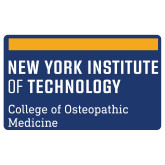 Extra Large Decal-NYIT College of Osteopathic Medicine - Horiontal