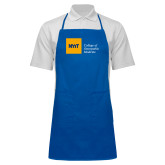 Full Length Royal Apron-NYIT College of Osteopathic Medicine - Horizontal