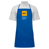 Full Length Royal Apron-NYIT College of Osteopathic Medicine - Vertical