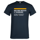Navy T Shirt-College of Osteopathic Medicine at Arkansas