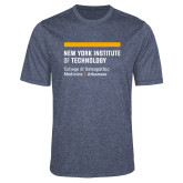 Performance Navy Heather Contender Tee-College of Osteopathic Medicine at Arkansas