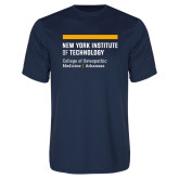 Performance Navy Tee-College of Osteopathic Medicine at Arkansas