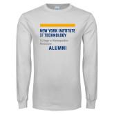 White Long Sleeve T Shirt-Aumni