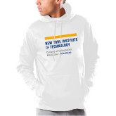 Under Armour White Armour Fleece Hoodie-College of Osteopathic Medicine at Arkansas