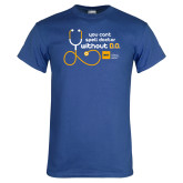 Royal T Shirt-You cant spell Doctor without D.O.