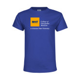 Youth Royal T Shirt-College of Osteopathic Medicine at Arkansas