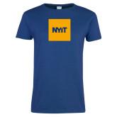 Ladies Royal T Shirt-NYIT Logo