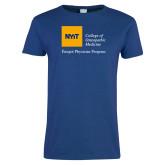 Ladies Royal T Shirt-Emigre Physician Program