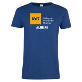Ladies Royal T Shirt-Aumni