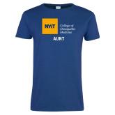 Ladies Royal T Shirt-Aunt
