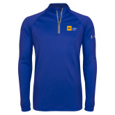Under Armour Royal Tech 1/4 Zip Performance Shirt-NYIT College of Osteopathic Medicine - Horizontal