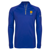 Under Armour Royal Tech 1/4 Zip Performance Shirt-NYIT College of Osteopathic Medicine - Vertical