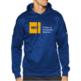 Adidas Royal Team Issue Hoodie-NYIT College of Osteopathic Medicine - Horizontal