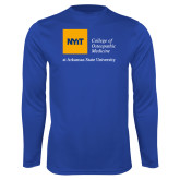 Performance Royal Longsleeve Shirt-College of Osteopathic Medicine at Arkansas