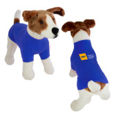 Classic Royal Dog T Shirt-NYIT College of Osteopathic Medicine - Horizontal