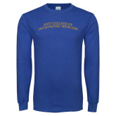 Royal Long Sleeve T Shirt-Arched