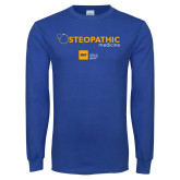 Royal Long Sleeve T Shirt-Osteopathic Medicine