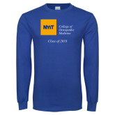 Royal Long Sleeve T Shirt-Class of..., Personalized year