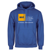 Royal Fleece Hoodie-College of Osteopathic Medicine at Arkansas