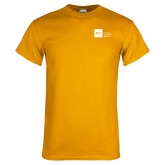Gold T Shirt-NYIT College of Osteopathic Medicine - Horizontal
