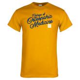 Gold T Shirt-Script