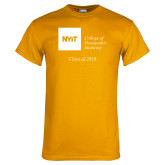 Gold T Shirt-Class of..., Personalized year