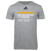 Adidas Sport Grey Logo T Shirt-College of Osteopathic Medicine at Arkansas