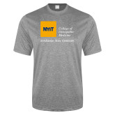 Performance Grey Heather Contender Tee-College of Osteopathic Medicine at Arkansas