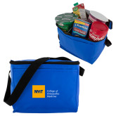 Six Pack Royal Cooler-NYIT College of Osteopathic Medicine - Horizontal