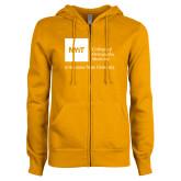 ENZA Ladies Gold Fleece Full Zip Hoodie-College of Osteopathic Medicine at Arkansas