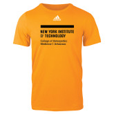 Adidas Gold Logo T Shirt-College of Osteopathic Medicine at Arkansas