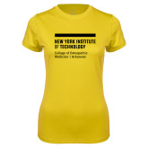 Ladies Syntrel Performance Gold Tee-College of Osteopathic Medicine at Arkansas