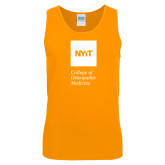 Gold Tank Top-NYIT College of Osteopathic Medicine - Vertical