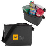 Six Pack Grey Cooler-NYIT College of Osteopathic Medicine - Horizontal