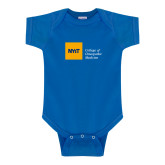 Royal Infant Onesie-NYIT College of Osteopathic Medicine - Horizontal